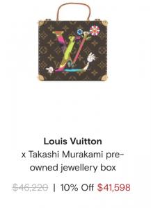תיק לואיס ויטון במחיר של 41,000$