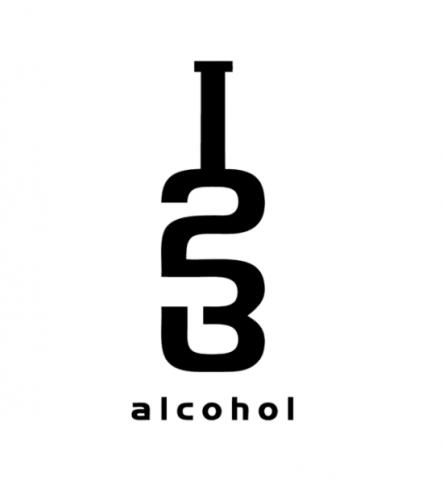 123 alcohol logo